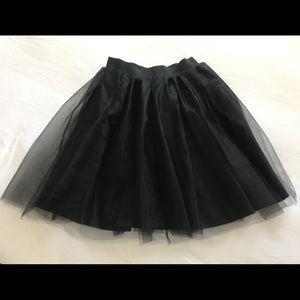 """Bliss Tulle """"Ashley"""" skirt in Black"""